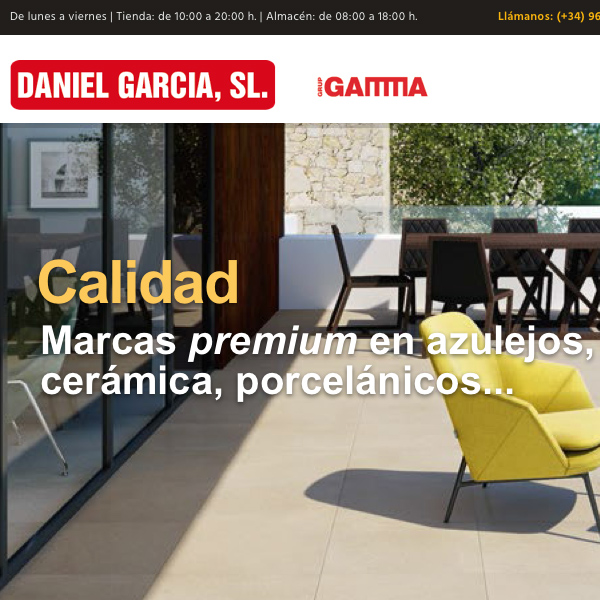 DANIEL GARCÍA's website