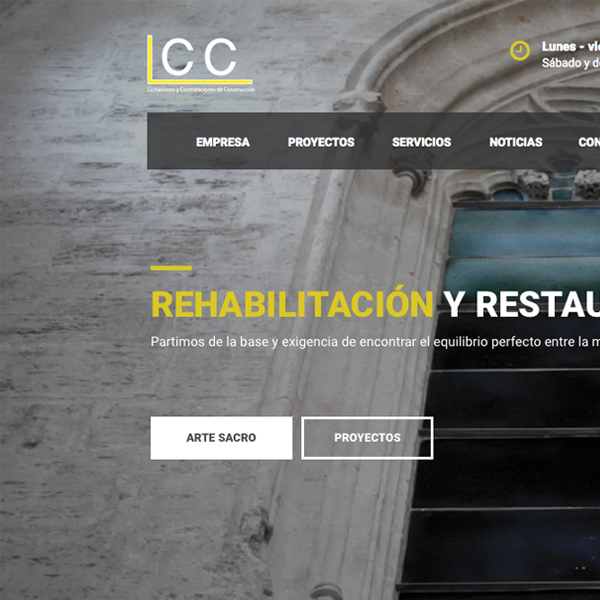 LCC's website
